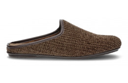 HAUS SLIPPER VULLADI CHINILLA  MARRON