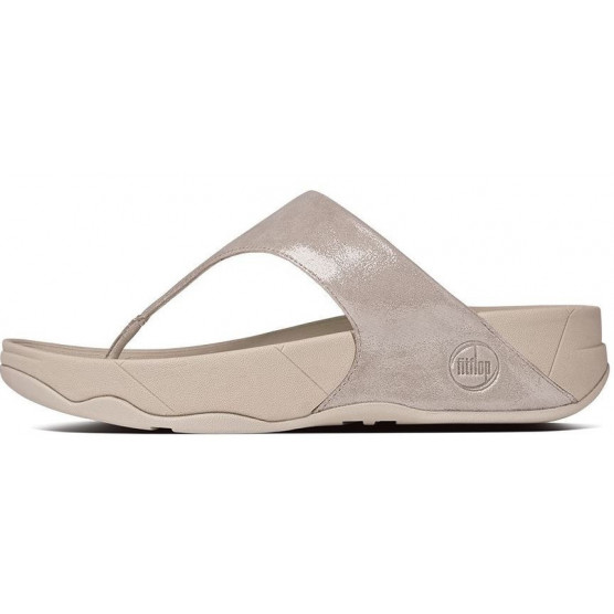 FITFLOP LULU SHIMMER SUEDE ROSA