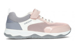 GEOX J CALCO SNEAKERS  PINK