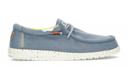 SCHUHE DUDE WALLY WASHED 1115  BLUE_STONE