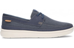 CLARKS SNEAKERS AUS CANTAL-SPITZE NAVY
