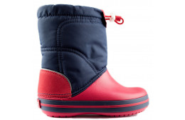 CROCBAND LODGEPOINT BOOT KIDS  ROJO